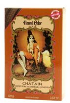 Chestnut Brown Chatain Henne Natural Henna Hair Dye Powder